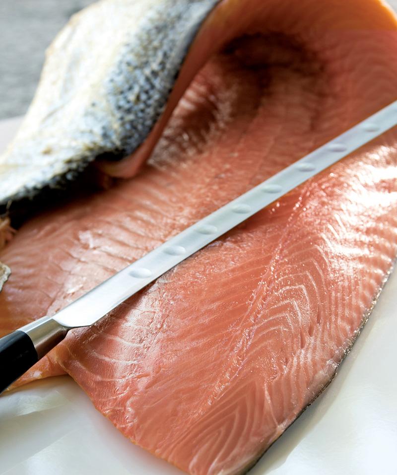 saumon, poisson, frais, auvergne maree, mareyage, négoce, poissonnerie, restauration
