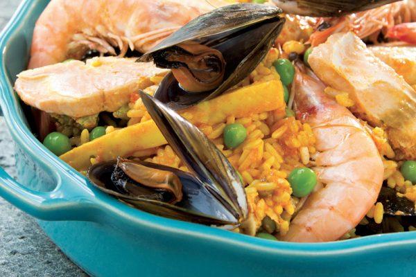 Produits cuisinés, traiteur, paella, choucroute de la mer, lasagnes